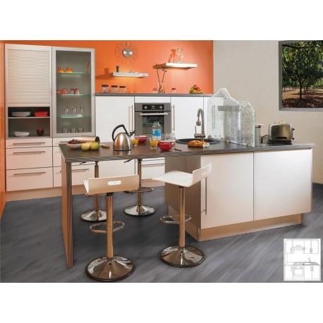 meuble de cuisine laque. Black Bedroom Furniture Sets. Home Design Ideas