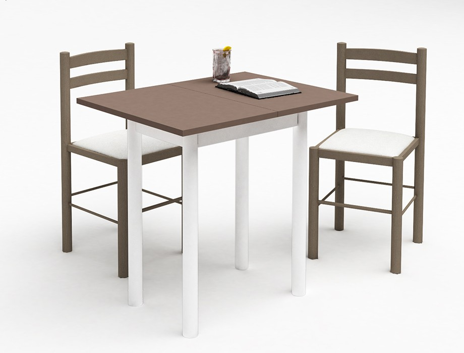 Table pliante avec chaises intgres conforama cool table for Petite table ronde cuisine conforama