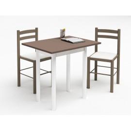 Table Cuisine Petite Largeur Table Rectangulaire Bois Maisonjoffrois