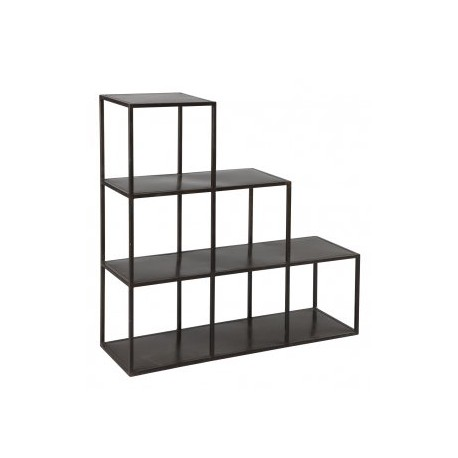 etagere metallique discount. Black Bedroom Furniture Sets. Home Design Ideas