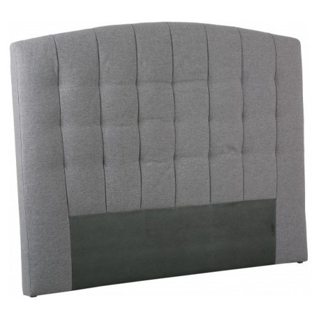 tete de lit capitonnage gris prix promo. Black Bedroom Furniture Sets. Home Design Ideas