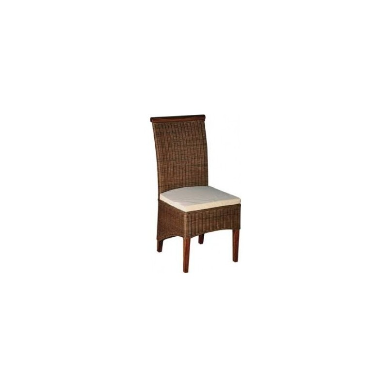 chaise rotin teinte noyer meilleur prix. Black Bedroom Furniture Sets. Home Design Ideas