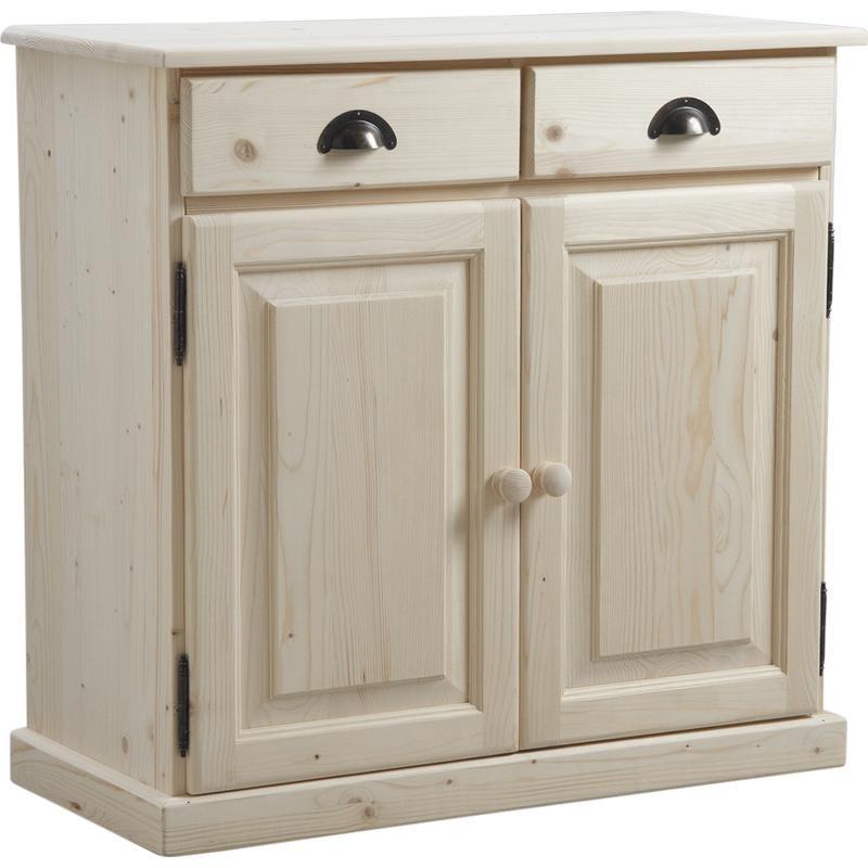 meubles consoles buffets étagères en bois brut massif à peindre