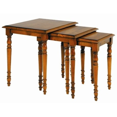 Table gigogne louis philippe - Table louis philippe merisier ...