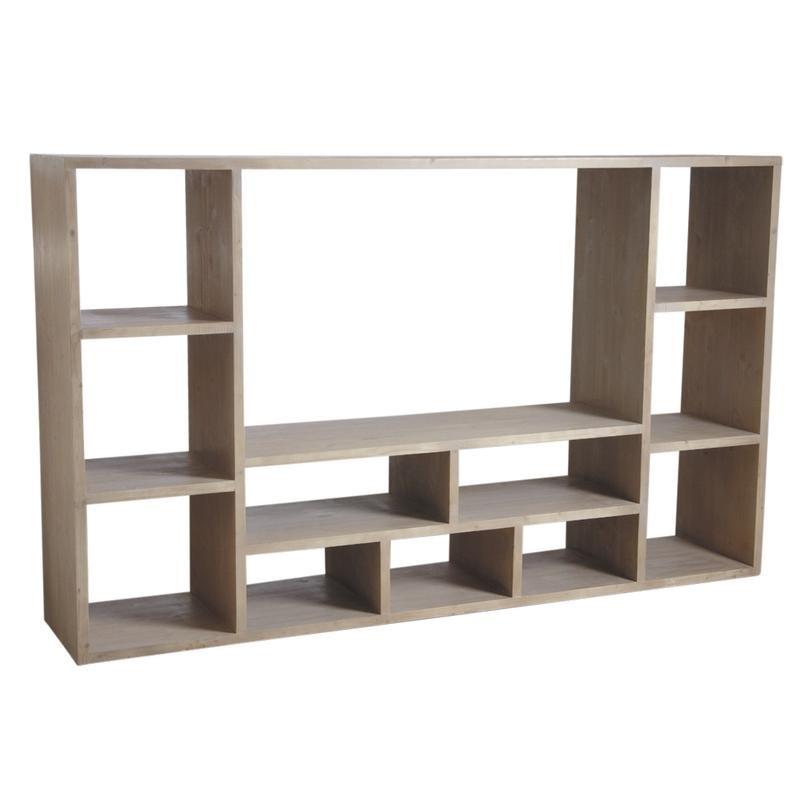 meuble living tv bois massif int rieur meubles. Black Bedroom Furniture Sets. Home Design Ideas