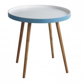 Petite table ronde de salon