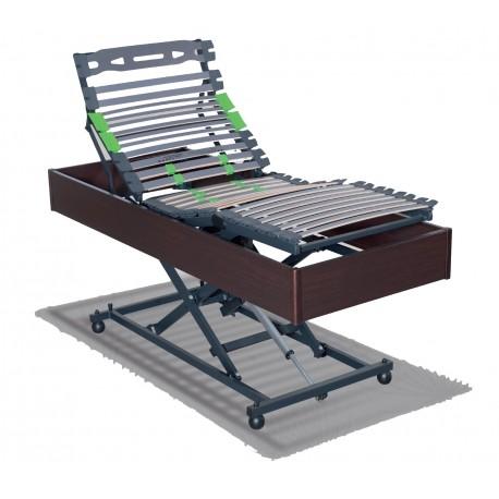 sommier electrique relevable style m dicalis pour 1 personne meilleur prix. Black Bedroom Furniture Sets. Home Design Ideas