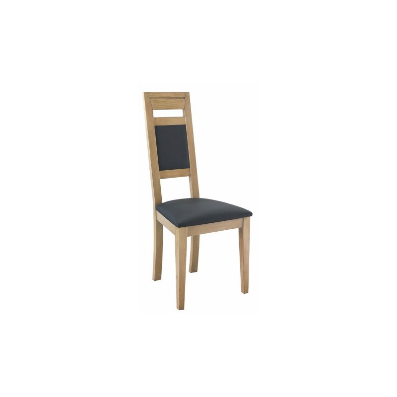 Chaise de salle a manger en fr ne dossier et assise en for Salle a manger en promotion