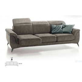 Canapé relax  tissu sur mesure