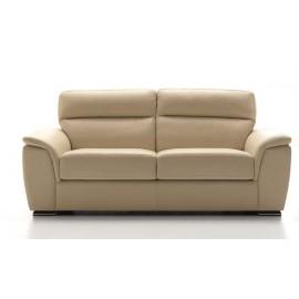 Canapé fixe tout cuir