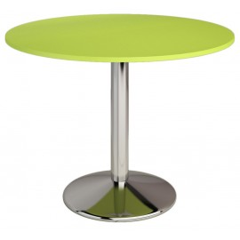Table ronde de cuisine diamétre 90 coloris au choix