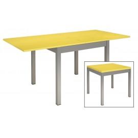 Table de cuisine couleur