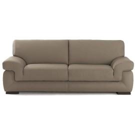 Canapé 2 places fixe cuir déco