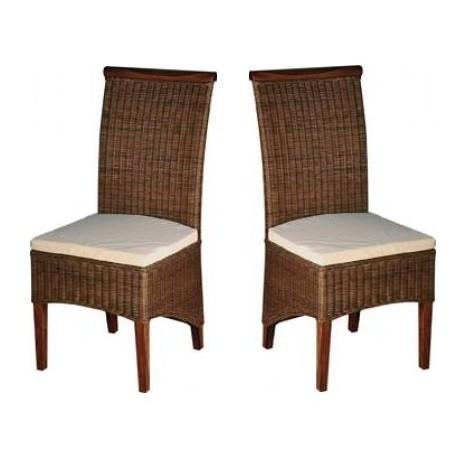 Chaises-en-rotin-assise-avec-coussin