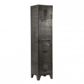Armoire 1 porte casier metal