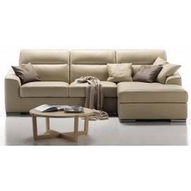Canapé cuir meridiènne