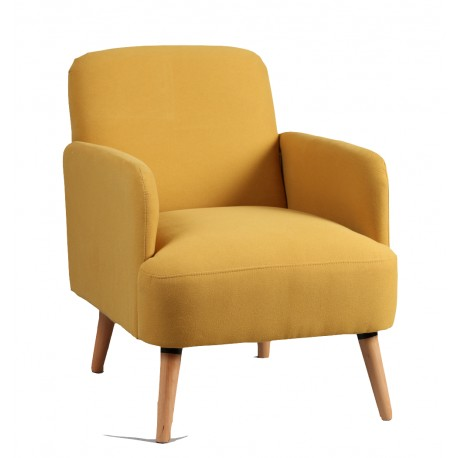 Petit fauteuil Jaune