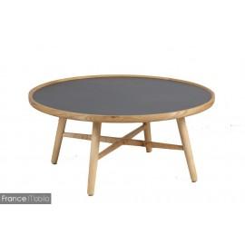 Table basse plateau céramique