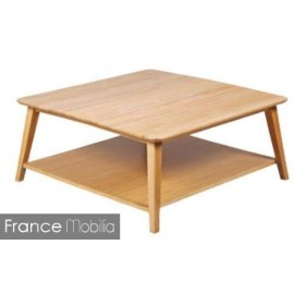 Table basse carrée