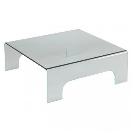Table de salon 100% verre trempé