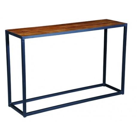meuble en tube acier carrés