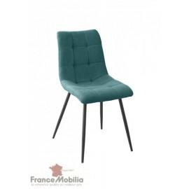 Chaise tissu polyestere  rubis  46x60Cm