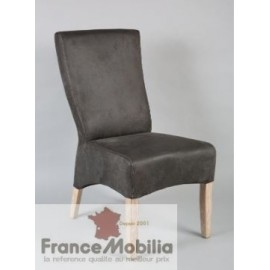 destockage chaise grise