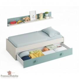 lit avec rangement 90x190