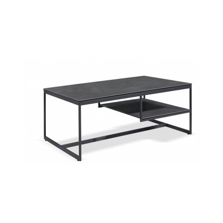 meuble tv metal gris