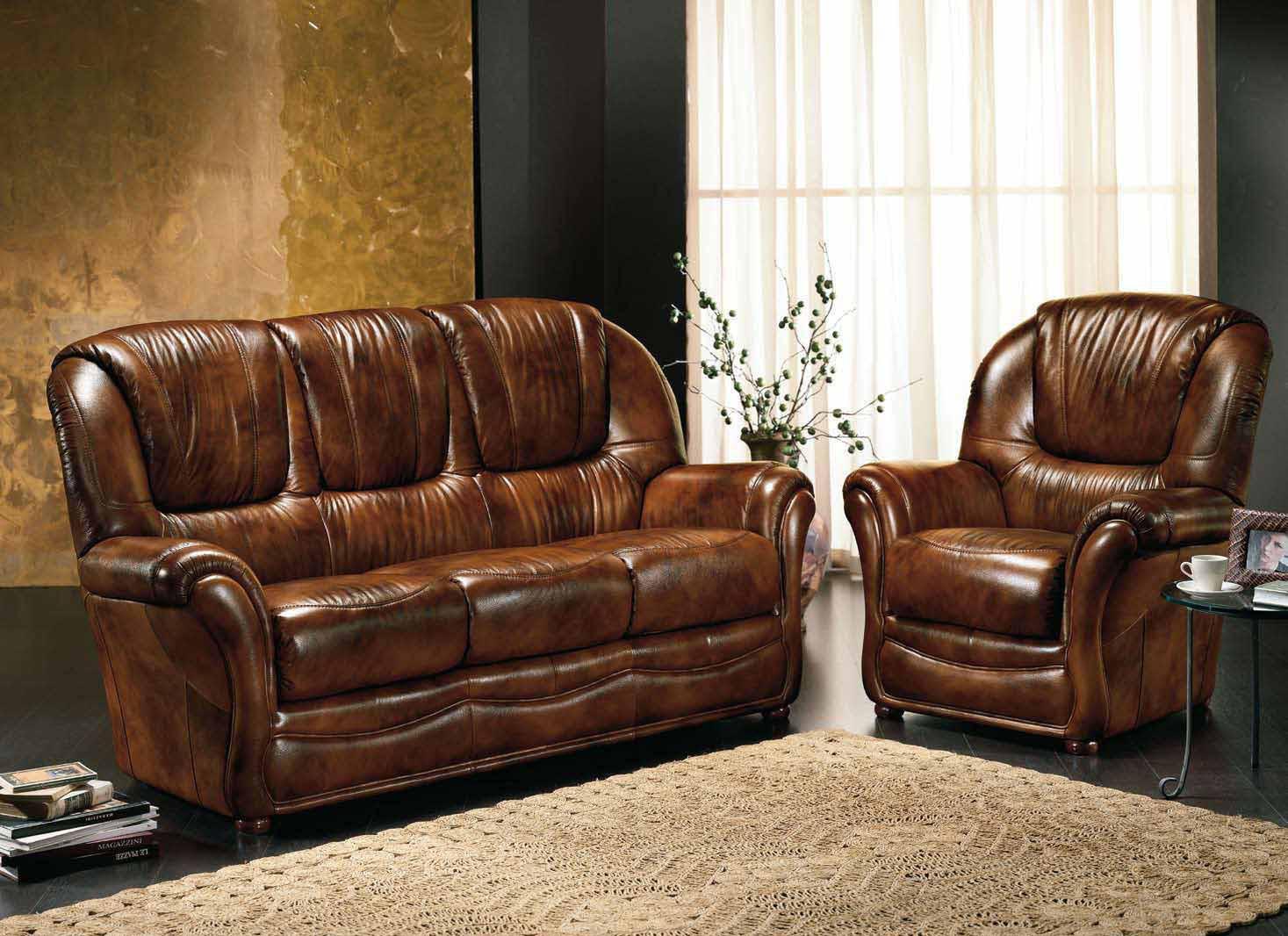 Deco Salon Marron Et Bleu canape 3 places et 2 fauteuils en cuir bleu vert marron gris taupe fixe au  convertible a prix moins cher