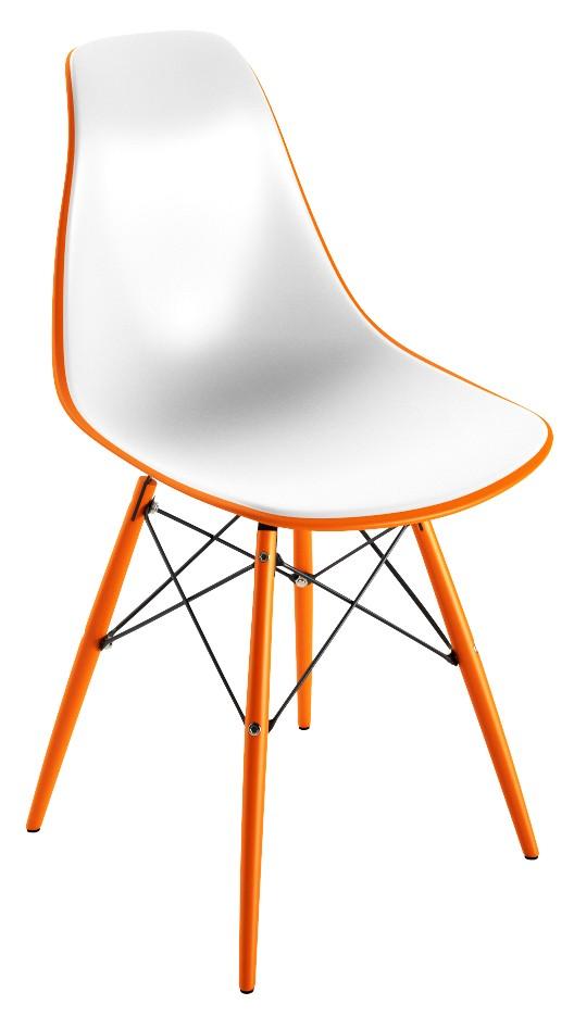 Chaise PVC Orange