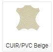 Cuir/Pvc Beige